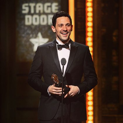 "Steve Kazee is an award-winning Broadway star. He won the Tony in 2012 for Best Performance by a Leading Actor for ""Once"", and he also won a Grammy for the soundtrack. Is no overstatement so say this guy is incredibly talented! (Photo: Instagram)"