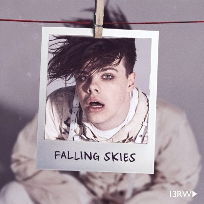 "Yungblud collaborated with Charlotte Lawrence for the song ""Falling Skies,"" which is featured on the season two soundtrack of Netflix's 13 Reasons Why. (Photo: Instagram)"