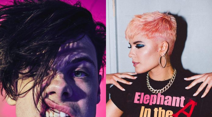 Who is Yungblud? Halsey's new boyfriend, apparently. Seems like she isn't that bad at love after all. (Photo: Instagram)