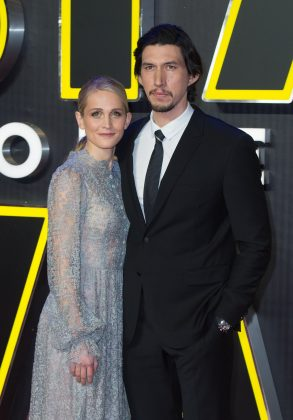 He's not afraid of commitment. Adam Driver married his longtime girlfriend, actress Joanne Tucker, in 2013. We would be jealous, if they didn't seem like such a perfect match. (Photo: Release)
