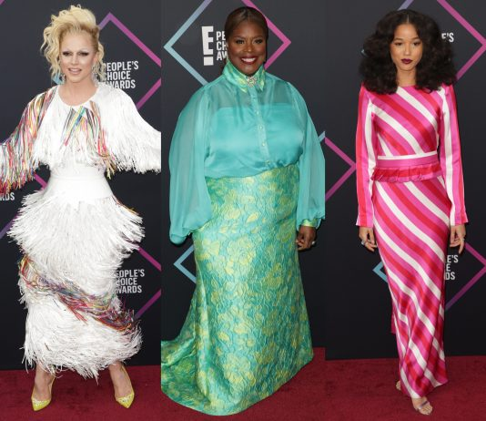 Click through to see some of the most disappointing looks at this year's 2018 People's Choice Awards red carpet. (Photo: WENN)