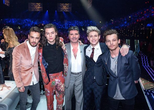 "One Direction signed with Simon Cowell after finishing third in the seventh season of the British ""X Factor"" in 2010. (Photo: Instagram)"