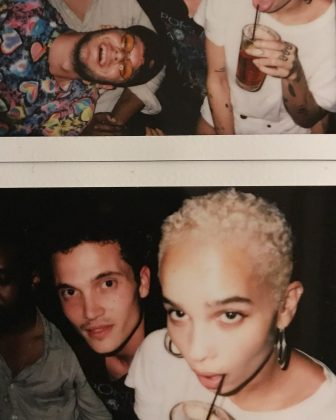 Karl and Zoe having a fun crazy night with friends. (Photo: Instagram)