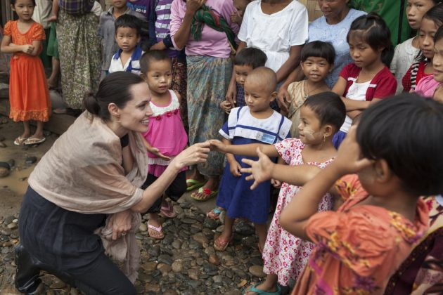 Jolie is an active campaigner on a range of issues, including refugees, sexual violence and conservation. (Photo: WENN)