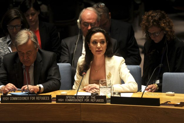 Since 2012, Angelina Jolie is a special envoy to the U.N. Refugee Agency. (Photo: WENN)
