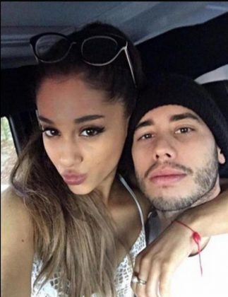Ariana Grande and Ricky Alvarez started dating in the summer of 2015. (Photo: Instagram)