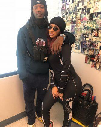 """Check up time with mommy and daddy,"" Cardi B captioned this picture with husband Offset. (Photo: Instagram)"
