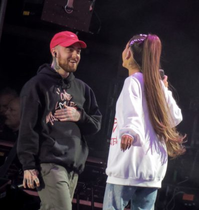 Ariana Grande and Mac Miller went their separate ways in May, after dating for almost two years. According to reports, the pair decided to end their relationship due to their work schedules but intended to stay close friends. (Photo: WENN)