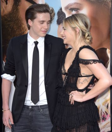 Brooklyn Beckham and Chloe Grace Moretz split up sometime this year. While it's unclear when the breakup exactly happened, Brooklyn first hinted at their separation when he was photographer making out with Playboy model Lexi Wood in April. (Photo: WENN)