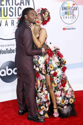 "Cardi B and Offset called it quits after one year of marriage in early December. Cardi confirmed the news with an Instagram video in which she said they ""grew out of love."" ""We are really good friends and we are really good business partners,"" she added. (Photo: WENN)"