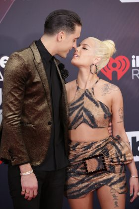 "G-Eazy and Halsey first split in July after dating for almost a year. She confirmed the news saying they were ""taking some time apart."" In August they got back together, only to split for good two months later. ""They just can't seem to get past their previous issues."" (Photo: WENN)"