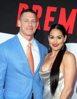 Nikki Bella and John Cena called of their engagement in April, just weeks before their May 5 wedding. The WWE couple's opposing views on marriage and starting a family were the main reasons for their breakup. (Photo: WENN)