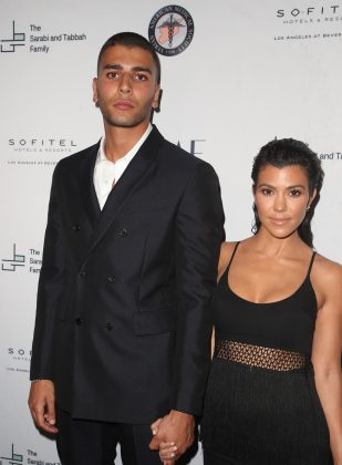 "Kourtney Kardashian and Younes Bendjima called it quits after two years of dating in August. The breakup came shortly after TMZ published photos of the model getting cozy with a young woman in Mexico. ""They really want me to be the bad guy,"" he said of the rumors. (Photo: WENN)"