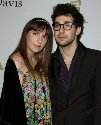 "Lena Dunham and Jack Antonoff called it quits after five years together in December, but we didn't learn about the split until January. According to reports, their breakup was mutual and ""they want the best for each other no matter what."" (Photo: WENN)"