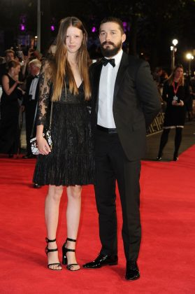 "Shia LaBeouf and Mia Goth decided to call it quits in September nearly two years after their wedding. ""The separation is amicable and all details pertaining to the divorce proceedings will remain private,"" a representative for the actor said. (Photo: WENN)"