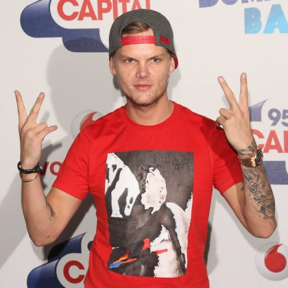 Avicii, the Swedish DJ and producer, died April 20 in Muscat, Oman, at 28 years old. Though it hasn't been confirmed, it's been rumored the cause of his death was suicide. (Photo: WENN)