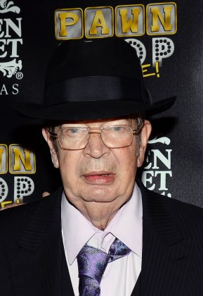 "Richard Harrison, known as ""Old Man"" on the hit reality show Pawn Stars died on June 25. He was 77. Rick, his son, confirmed his death on Instagram, calling his father his ""hero."" (Photo: WENN)"