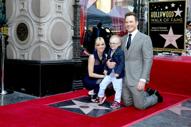 Chris and Anna share a 6-year-old son named Jack. (Photo: WENN)