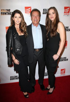 Katherine (left) is the daughter of Hollywood icon Arnold Schwarzenegger. (Photo: WENN)