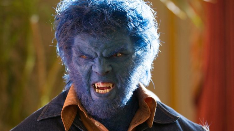 A blue hairy creature with unmeasured power when he gets angry and fights for justice along a bunch of other superheroes. That's the role that boomed Nichola's career and made him what he is today! (Photo: WENN)