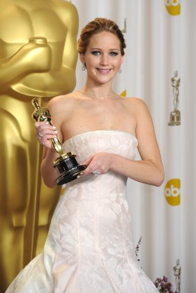 "Jennifer Lawrence won the Best Actress Oscar in 2012 for her role in the ""Silver Linings Playbook."" (Photo: WENN)"