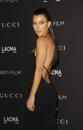 After Kim infamous comments against Kourtney, even fans suggested the Kardashian Jenners should probably skip this year's holiday greetings. (Photo: WENN)