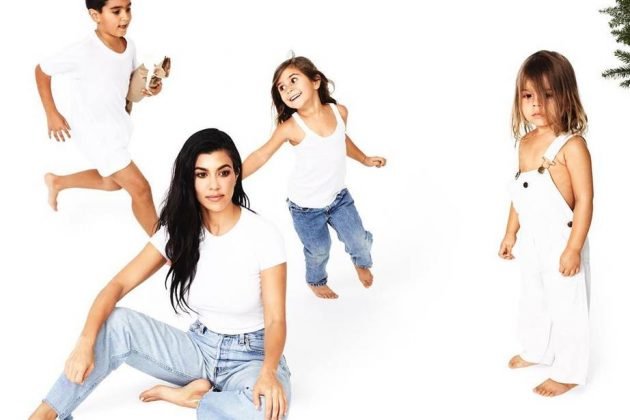 "Last year's holiday photo-shoot lead to the fight where Kim called Kourtney the ""least interesting to look at."" (Photo: Instagram)"