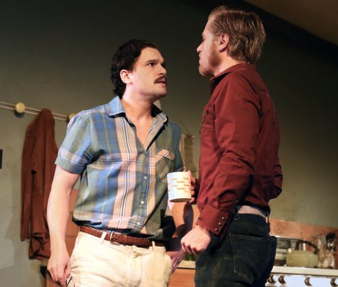 """Kit Harington is currently starring in the play """"True West"""" in London. (Photo: WENN)"""