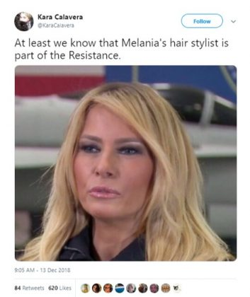 The hair stylist is one of us. (Photo: Twitter)