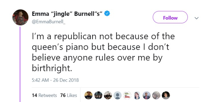 I'm a Republican because being born is the worst qualification imaginable. (Photo: Twitter)