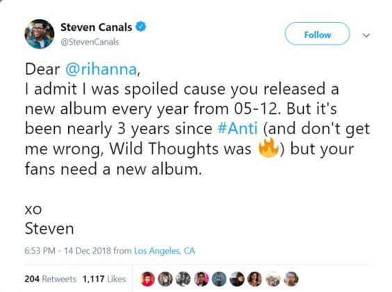 Dear Steven, the wait is finally coming to its much-awaited end. (Photo: Twitter)