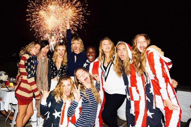 For the second year in a row, Taylor Swift skipped her traditional star-studded 4th of July party and instead remained out of the spotlight for the holiday. The reason? To put her privacy at the forefront. (Photo: Instagram)
