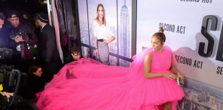 Click through our photo gallery to see our 12 favorite voluminous dresses on the red carpet. So much for bathroom breaks! (Photo: WENN)