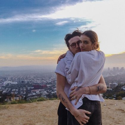 Who is Hana Cross? Just Brooklyn Beckham's new girlfriend—and arguably one of the most envied girl on the planet, of course. (Photo: Instagram)