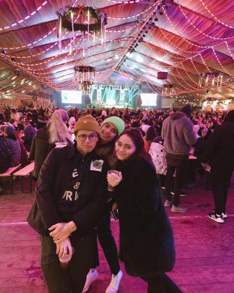 Multiple outlets report that Brooklyn Beckham and Hana cross met through his cousin, Libby Adams. Brooklyn's cous has even posted and Instagram picture featuring the hot new pair. (Photo: Instagram)