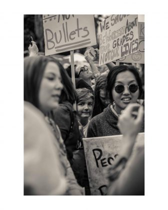 Harrison is dedicated to social justice. She's posted on her Instagram about events surrounding a variety of issues in the United States. In March, she made several posts of photos from the March for Our Lives march in Los Angeles. (Photo: Instagram)