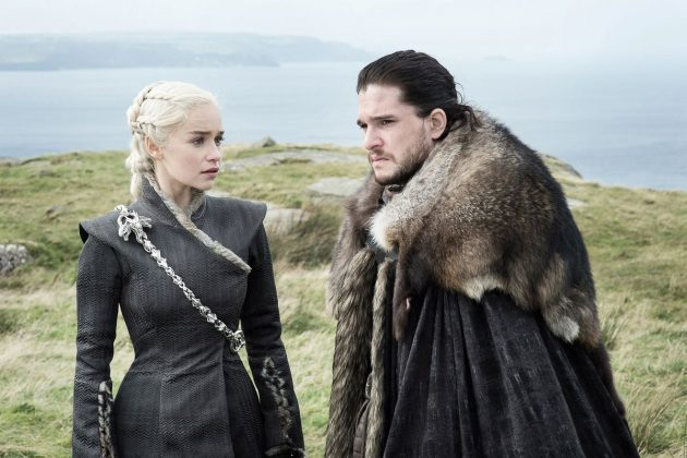 His romance with Daenerys is weak as hell—and not because they're related. Given the fact that they only knew each other for exactly four episodes before doing it, their romance strikes us as a total fan services for one element of the fandom who wanted this relationship. (Photo: Release)