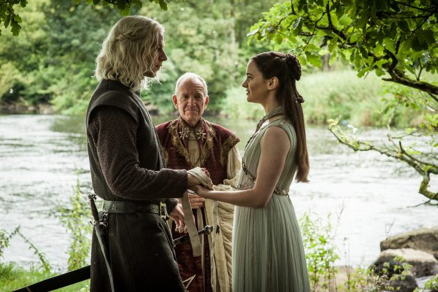 The mystery behind his birth parents was one of the show's worst-kept secrets. In season 6 finale it was revealed Rhaegar Targaryen and Lyanna Stark are Jon's parents. However, this conclusion was one of the most popular fan theories. PREDICTABLE. (Photo: Release)