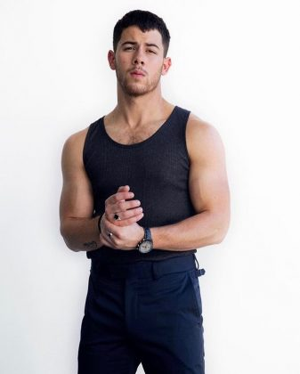 Because Nick Jonas is hella handsome. And we aren't just talking about his buffed physic. It's also his eyes, smile, curly hair… Cute babies guaranteed for Priyanka and Nick! (Photo: Instagram)