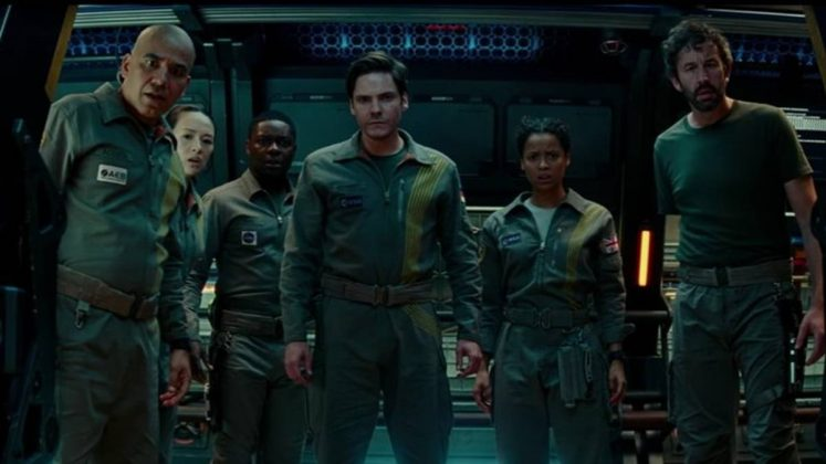 "The Netflix original ""The Cloverfield Paradox"" left us wondering… what just happened here? The third installment in the franchise, not surprisingly, earned a 17% on Rotten Tomatoes. How could it not? A head explodes because it's full of worms. (Photo: Release)"