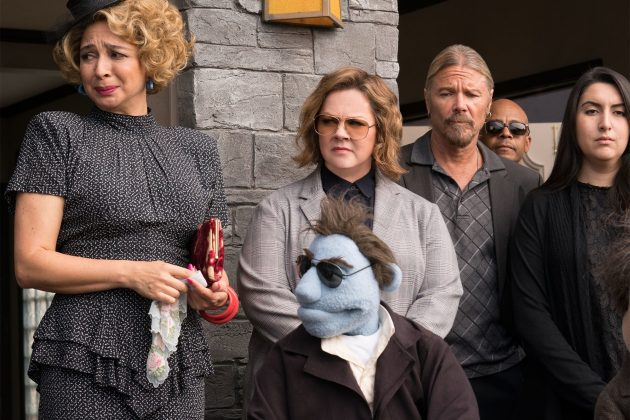 "What if a puppet keeps having sex and gratuitously drops the F-bomb non-stop for about 90 minutes? That appears to have been the pitch process for ""The Happytime Murders"". (Photo: Release)"