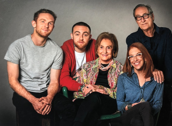 Malcolm was very close to his family. His brother, Miller McCormick, a designer, illustrator, and photographer designed his cover art, even designing an alarm clock app for the GO:OD AM album release. (Photo: Instagram)