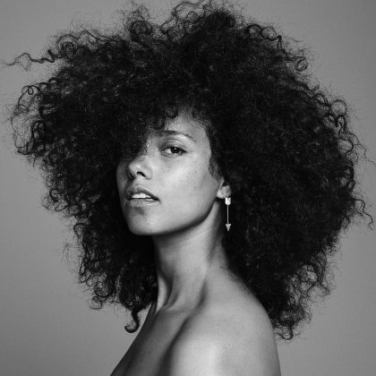 Alicia Keys needs no makeup because, first, she's a natural beauty, and second and foremost, she has an even more beautiful voice! (Photo: Instagram)
