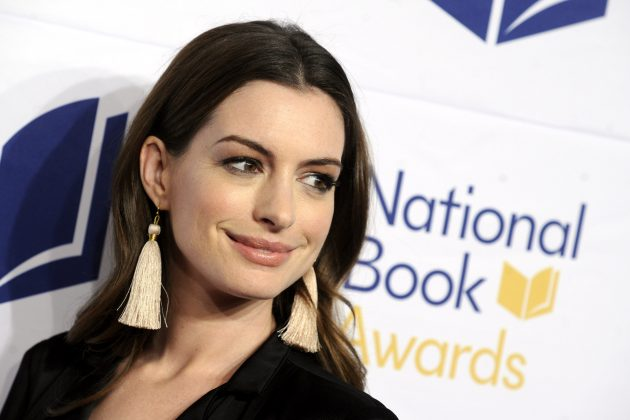 Anne Hathaway is quitting drinking for the next 18 years. (Photo: WENN)