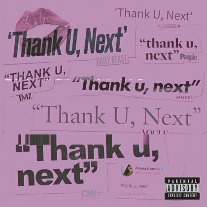 The album's title track, 'thank u, next,' became Ariana's first No. 1 on the Billboard Hot 100. (Photo: Instagram)