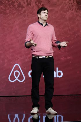Kutcher has a history of investing in tech companies like Spotify, Uber and Airbnb. (Photo: WENN)