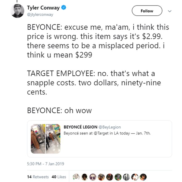 b48641dd69 Beyoncé Shops At Target (AGAIN!) And Twitter Loves A Relatable Queen ...