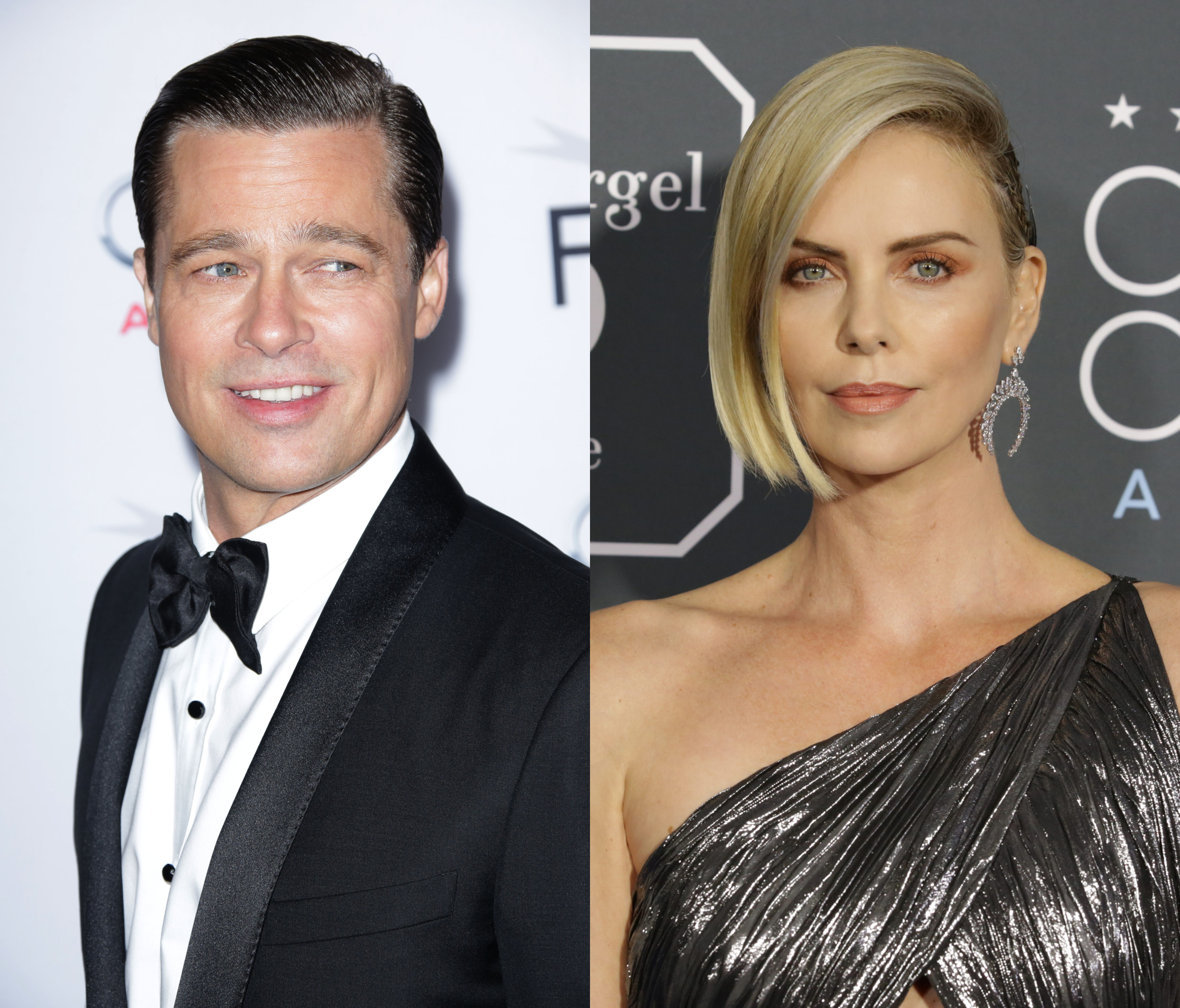 Wait A Minute—Are Brad Pitt And Charlize Theron Hollywood ...