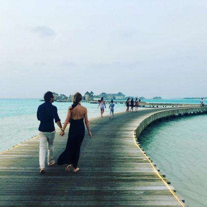 """Walking into the new year with a lot of gratitude for all of the wonderful moments of 2019, lessons, and joys alike,"" wrote newly-wed Gwyneth Paltrow. (Photo: Instagram)"