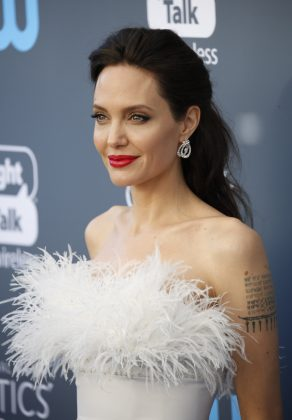 Angelina Jolie is probably Hollywood's most iconic brunette, but she wasn't born with her black hair. Jolie is a natural blonde, but her mother began dying her hair at the young of age of 4 because she liked the darker look better. And so do we. (Photo: WENN)